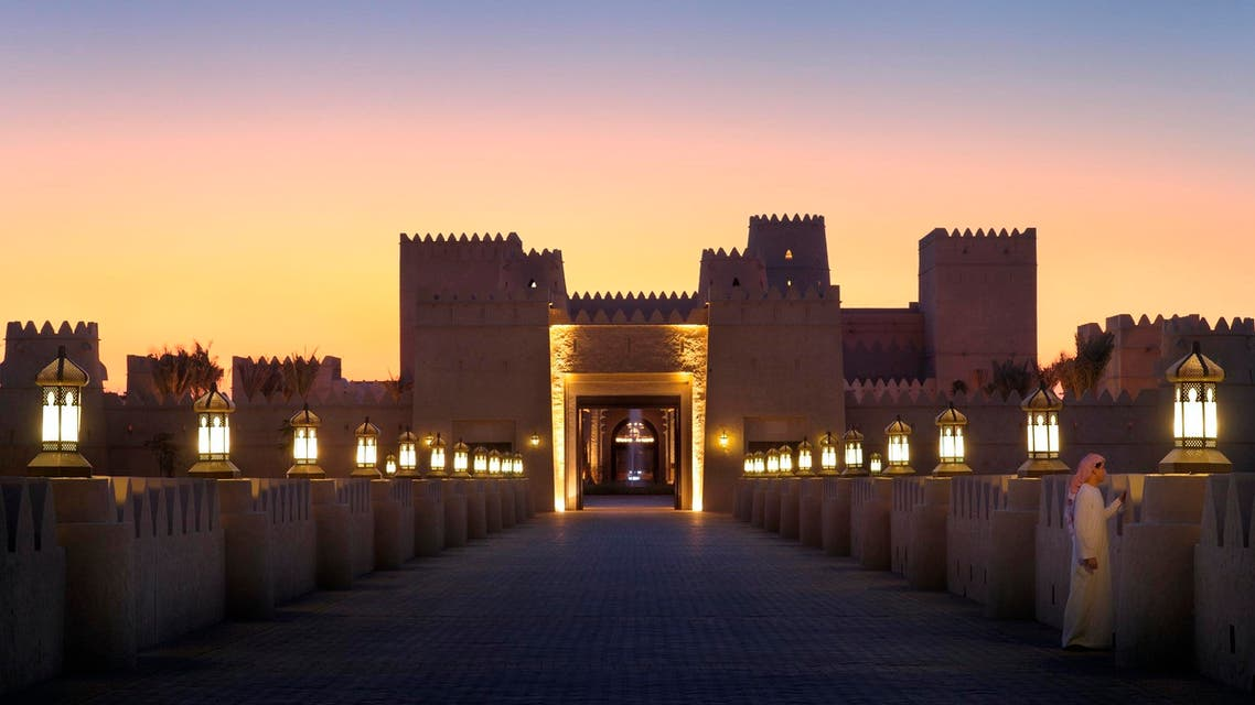 It is about 2 hours and 15 minutes drive from Abu Dhabi, into the Empty Quarter. (Courtesy: Qasr Al Sarab)