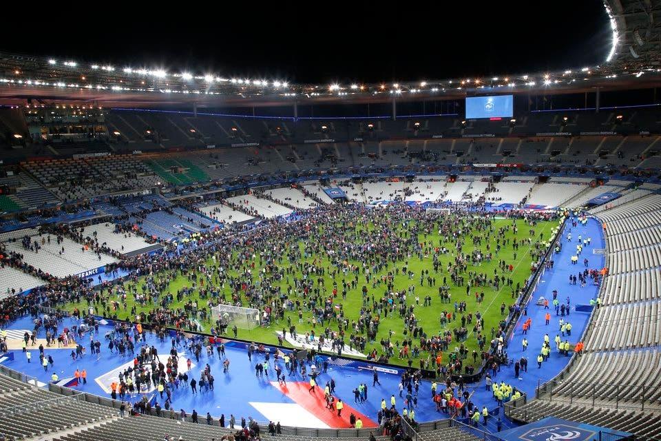 استاد دو فرانس كان مستهدفاً في الهجوم الارهابي في باريس