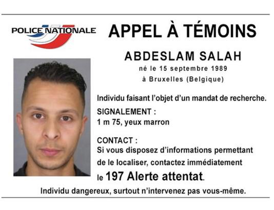 المشتبه به في فرنسا عبدالسلام صلاح