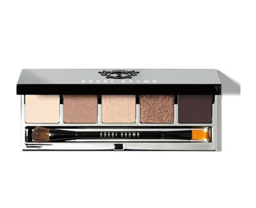 Bobbie Brown's sheer palette contains warm cream, caramel and brown shadows in matt, shimmer and sparkle finishes. (Photo supplied)