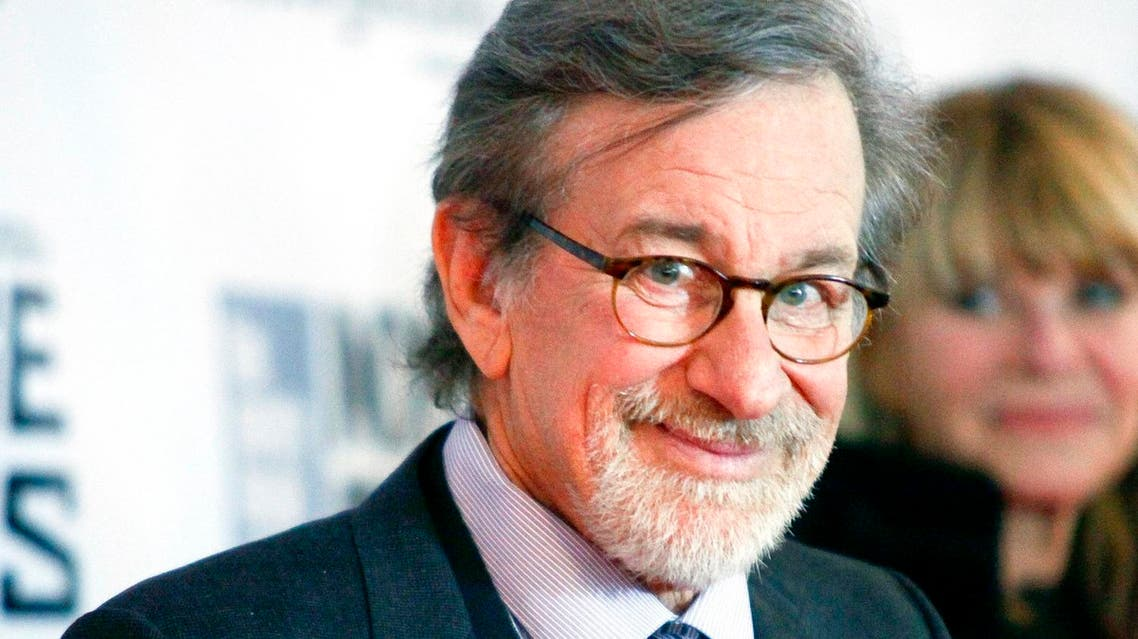 """Steven Spielberg attends the New York Film Festival """"Bridge of Spies"""" premiere at Alice Tully Hall. (File photo: AP)"""