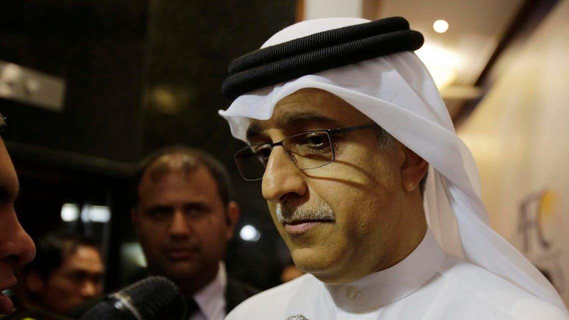 Asian Football Confederation President Sheikh Salman bin Ebrahim Al Khalifa speaks to journalists at the AFC Congress in Manama. (File photo: AP)