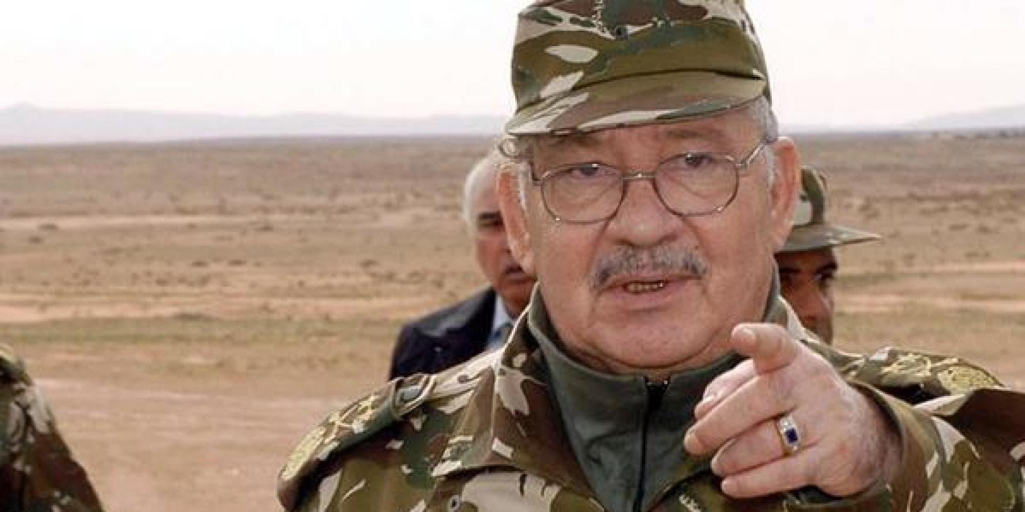 قايد صالح رئيس أركان الجيش الجزائري