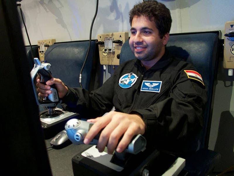 Akram Abdellatif, a 27-year-old Egyptian engineer | tum.de