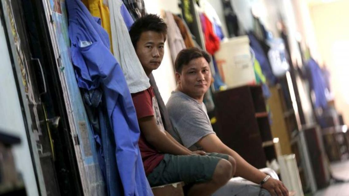 Labourers are pictured in a foreign workers dormitory in the Sanaya Industrial Area in Doha. (File photo: Reuters)