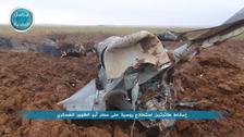 #جبهة_النصرة تعلن إسقاط طائرتي استطلاع روسيتين في إدلب