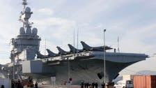 اولاند کا فرانسیسی بحری بیڑے کا دورہ، فوجیوں سے خطاب