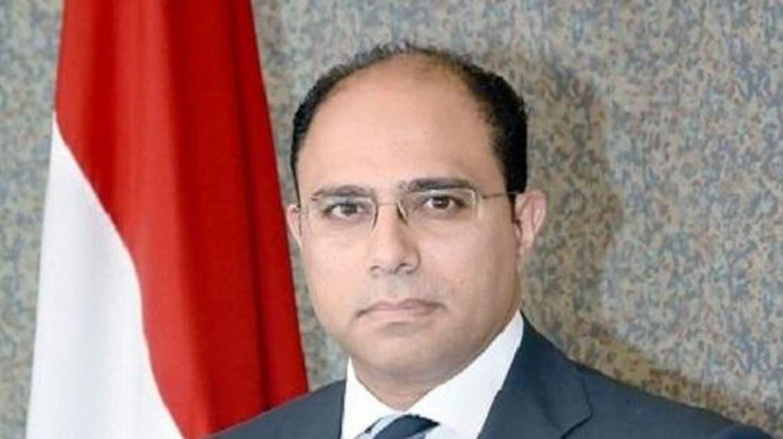 المتحدث الرسمي لوزارة الخارجية المصرية السفير أحمد أبو زيد