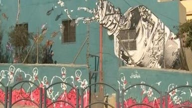 الغرافيتي تزين جدران المدن الفلسطينية