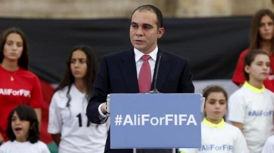 Prince Ali Bin Al-Hussein of Jordan is one of five men seeking to replace Sepp Blatter in February's special elective vote. (Reuters)