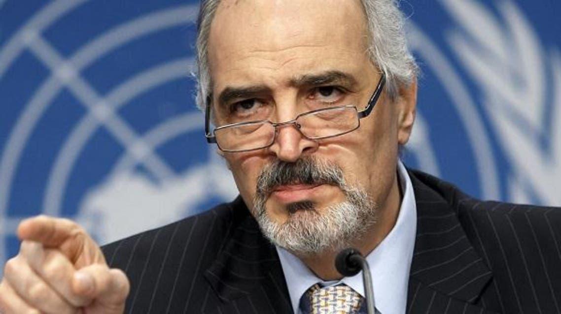 بشار الجعفري من على منبر الأمم المتحدة يطيح بلغة الضاد