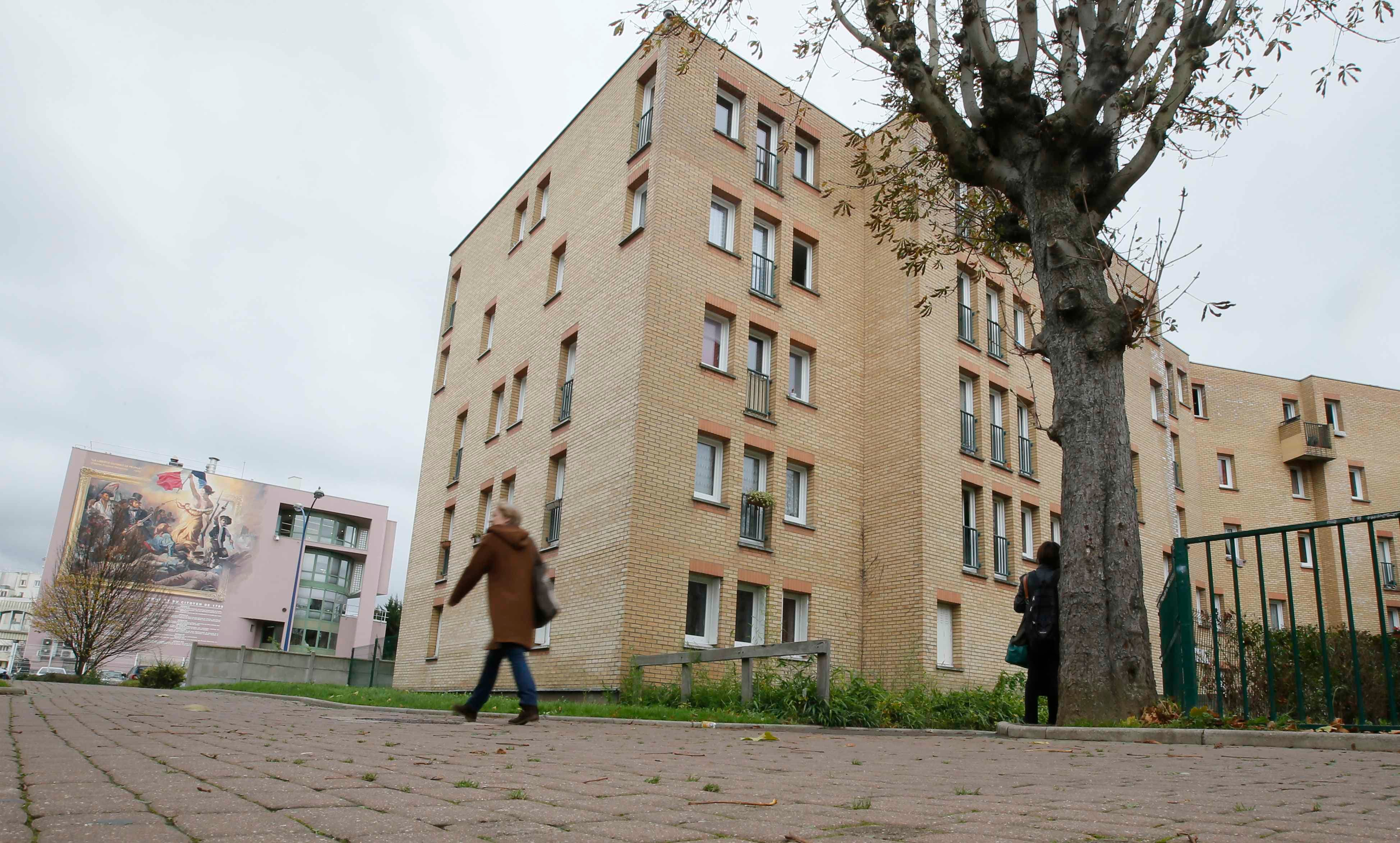 A general view shows the apartment block where Samy Amimour, one of the attackers identified by police, grew up in the Parisian suburb of Drancy, France, November 17, 2015.