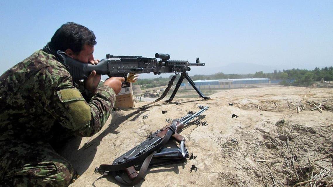 An Afghan security force   AP
