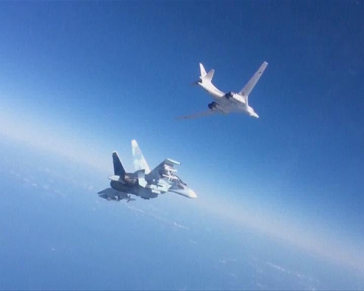 جنگندههای روسی در آسمان درعا