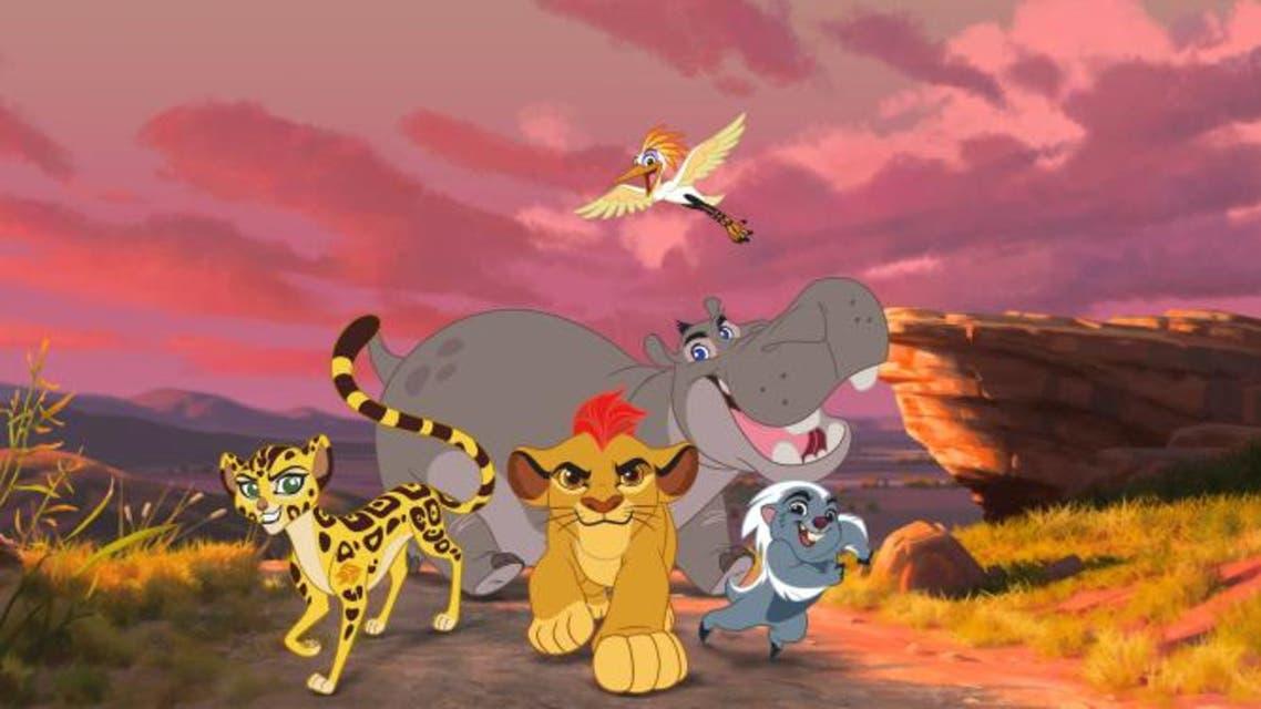 Meet the gang: Bunga the fearless honey badger; confident cheetah Fuli; Beshte the friendly hippo, and brainy egret Ono. (Disney)