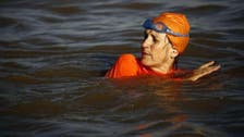 Ambassador swims across the Nile for Facebook bet
