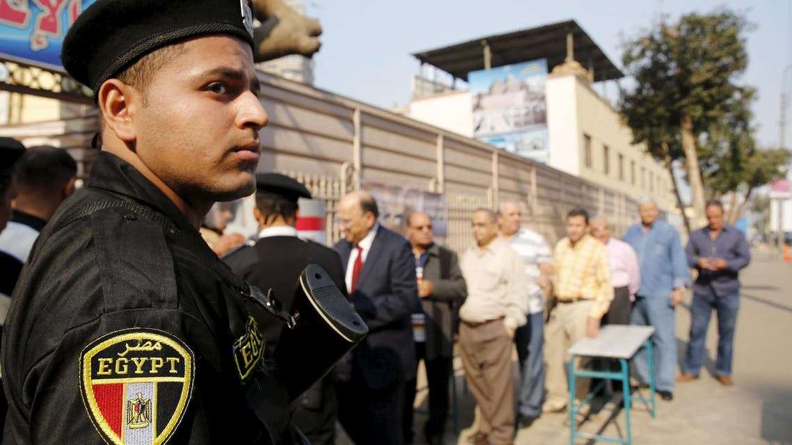 انتخابات مصر - أمن