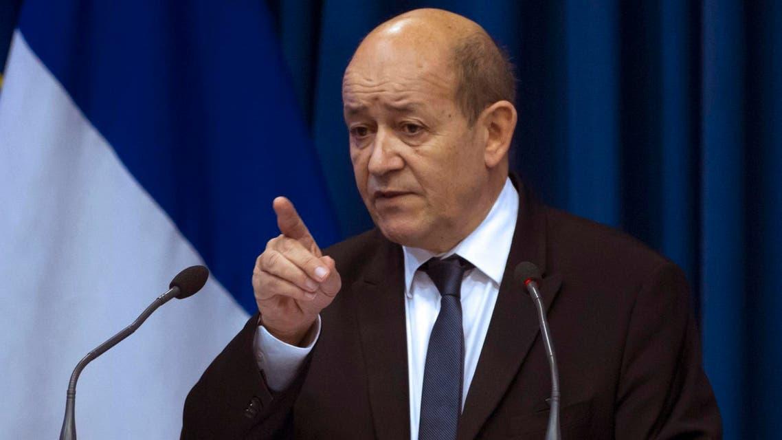 وزير الدفاع الفرنسي - جان إيف لودريان