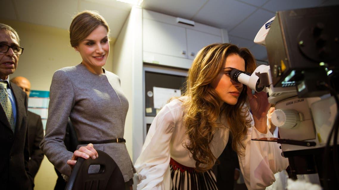 الملكة رانيا في اسبانيا