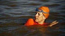 سفيرة #هولندا في #السودان تعبر نهر النيل سباحة