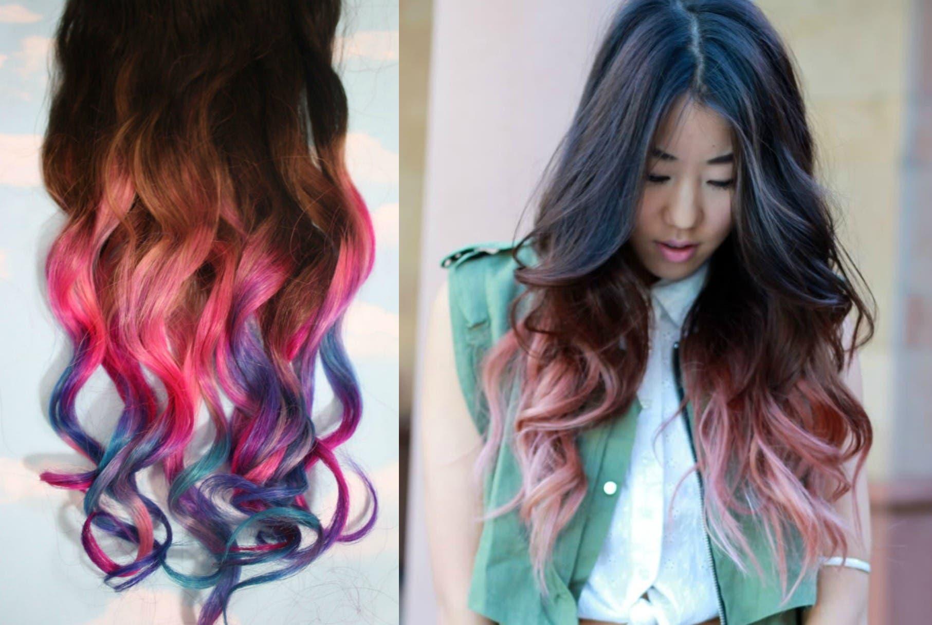 rainbow hair the right way