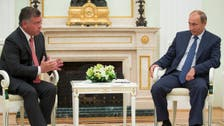 Jordan's King Abdullah to discuss war on Syria militants with Putin