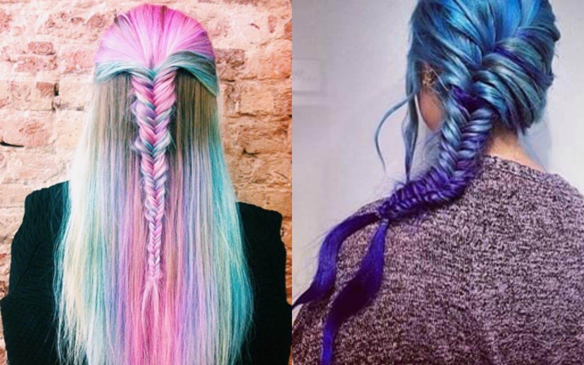 Pastels Plaits And Rainbows 6 Ways To Wear Rainbow Hair