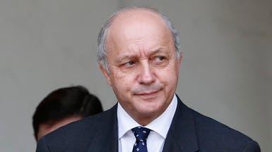 فابيوس يتهم روسيا وإيران وينتقد واشنطن بشأن سوريا