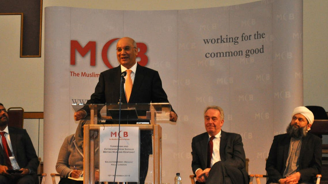 """Keith Vaz MP said British Muslims are becoming """"more angry and more anxious"""" because of the Prevent strategy. (Al Arabiya News)"""