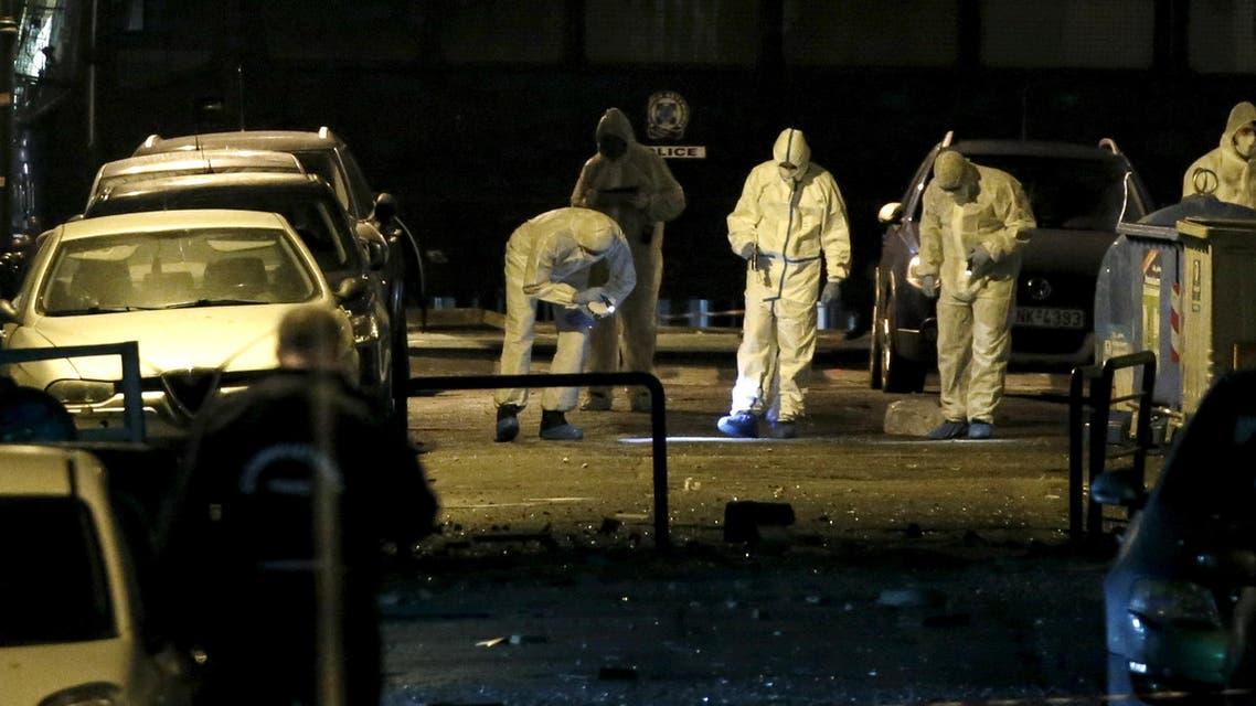 انفجار قنبلة بالقرب من اتحاد الأعمال وسط أثينا في اليونان
