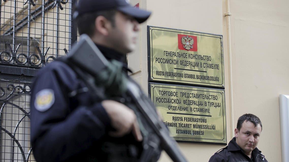 القنصلية الروسية في اسطنبول