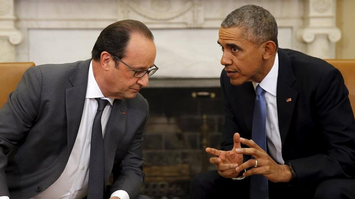 """French warplanes """"destroyed"""" an Islamic State of Iraq and Syria (ISIS) group command center and a training camp near the key northern Iraqi city of Mosul, the defense ministry said Tuesday.   """"The target was hit"""" in the nearby city of Tal Afar, a French official said. It took place as French President Francois Hollande visited Washington for talks with his US counterpart Barack Obama.  Eleven days after the deadly attacks that killed 130 people in Paris, Obama and Hollande announced they would intensify their air raids against ISIS, and urged Russia to focus its military efforts against the group.  The aerial assault, which took place around 1830 GMT, was conducted jointly with the U.S. Air Force and last about five hours, the French defense ministry said in a statement.  The Rafale jets took off from the Charles de Gaulle aircraft carrier in the eastern Mediterranean Sea. It has been deployed since Monday in anti-ISIS operations.  On Monday, aircraft that took off from the carrier provided aerial support to Iraqi troops battling ISIS in Ramadi and Mosul.  Late Monday, they also hit the ISIS stronghold of Raqqa in northern Syria, targeting a command center, a vehicle storage area and maintenance facilities. (Reuters)"""
