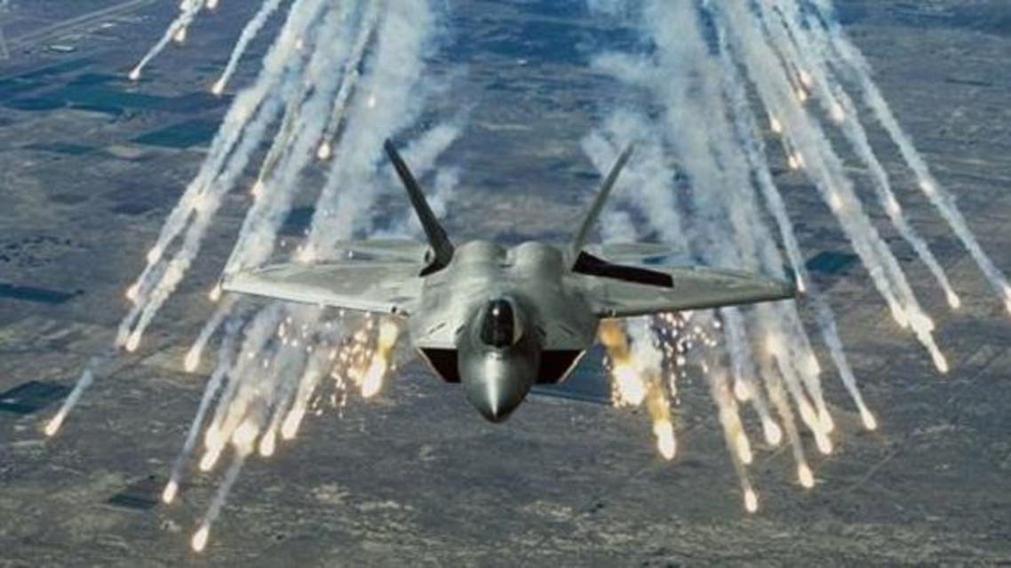 طائرات تقصف داعش- أرشيفية