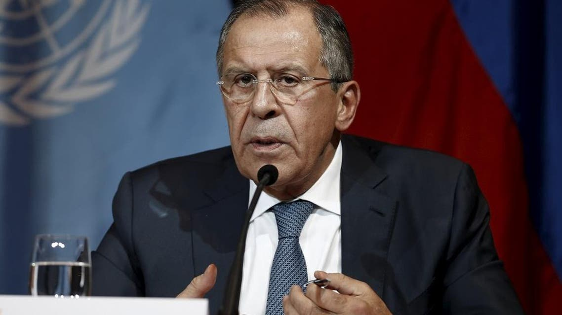 Russian Foreign Minister Sergei Lavrov addresses the media in Vienna, Austria. (File: Reuters)