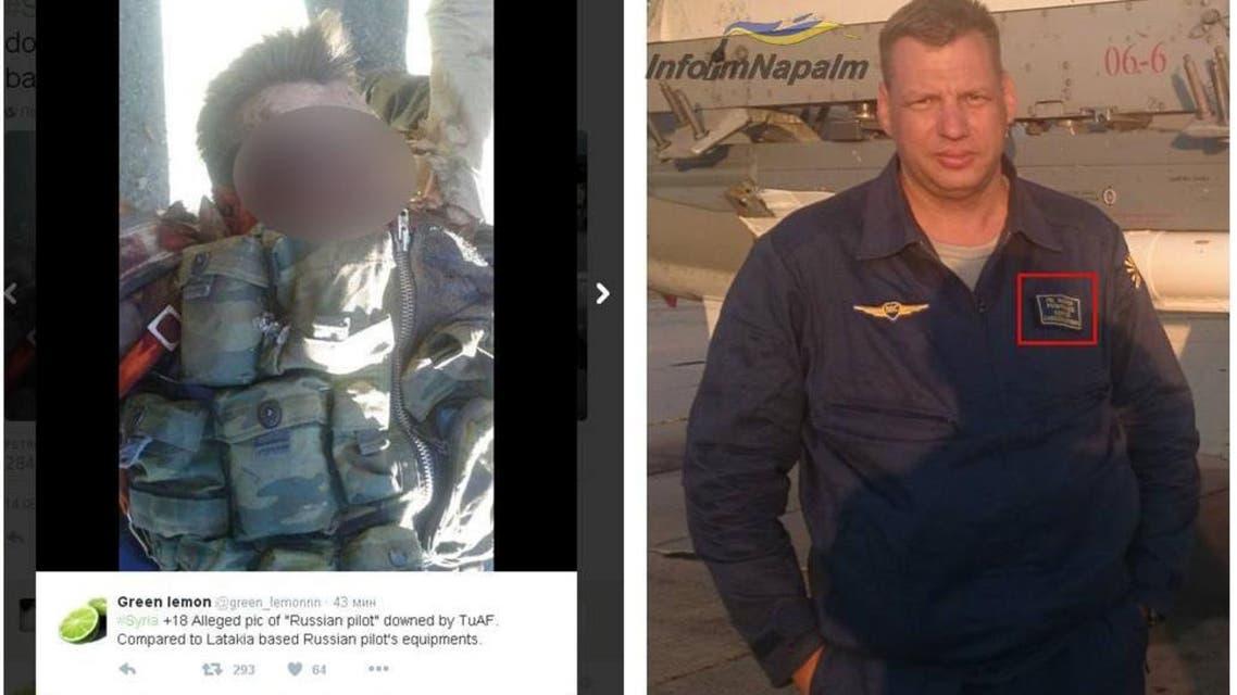 مقتل الطيار الروسي