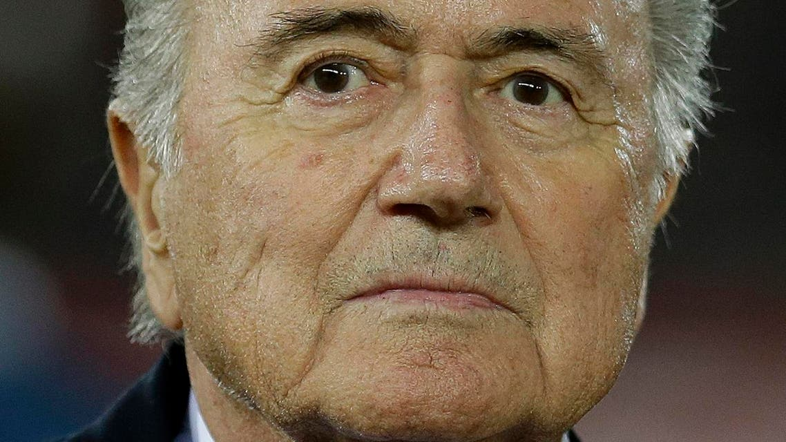 Blatter is standing down in February after agreeing to lay down his mandate. (File photo: AP)