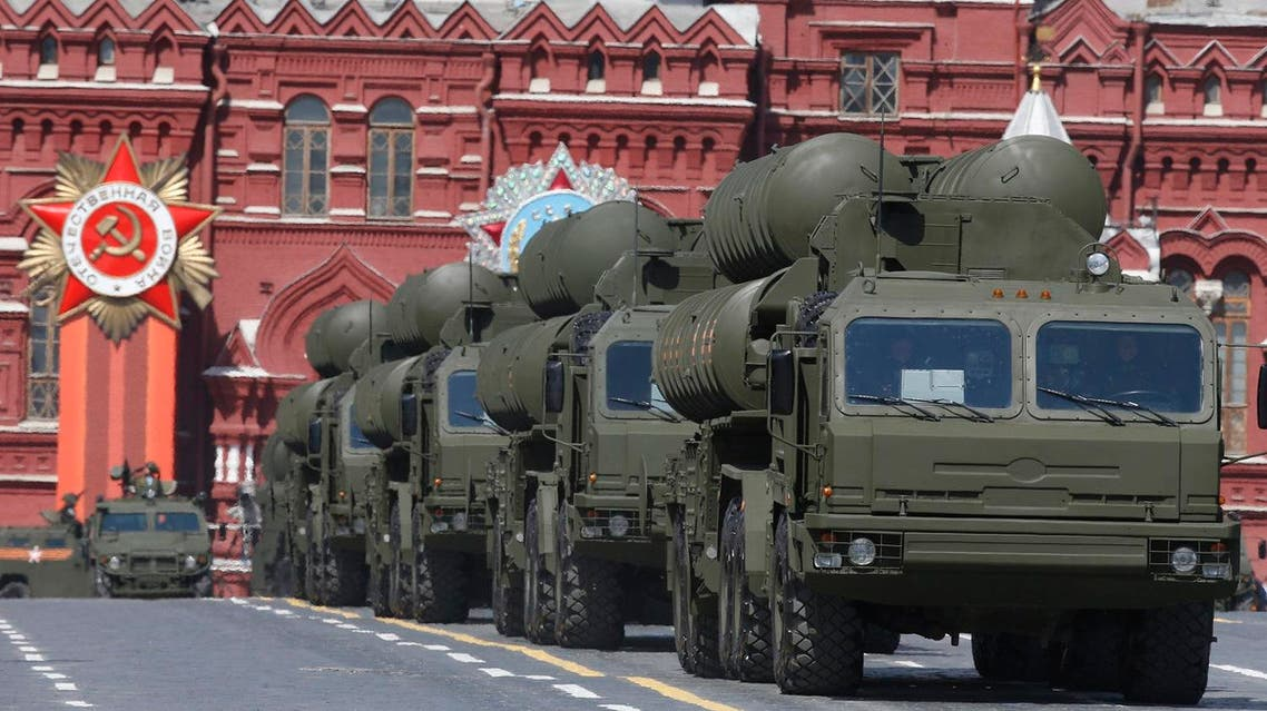 Russian President Vladimir Putin ordered S-400 missiles sent to Syria, which are capable of striking targets within a 400 km range. (File photo: Reuters)