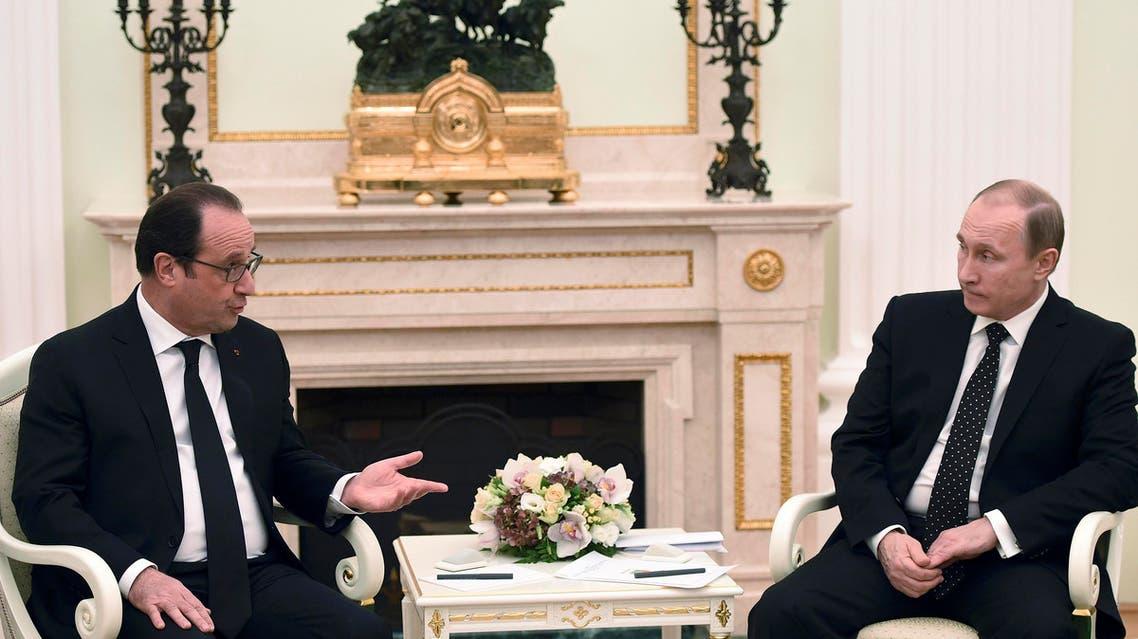 هولاند و بوتين 3