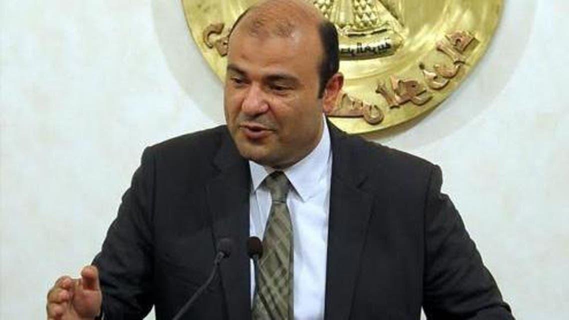 وزير التموين المصري خالد حنفي