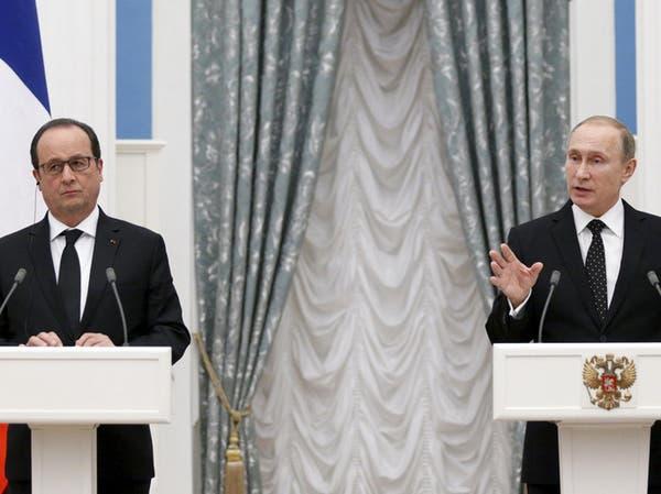 هولاند يرفض استمرار #الأسد وبوتين يعتبره حليفاً