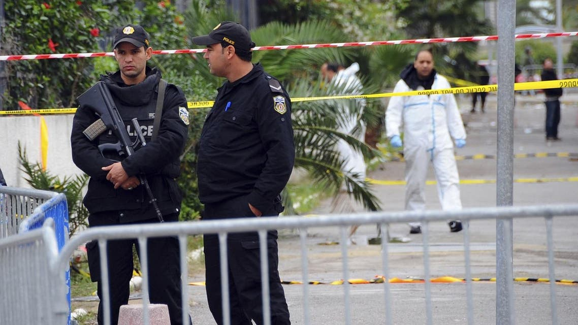 ISIS claimed responsibility for a suicide bomb attack on a bus in central Tunis, which left 12 dead plus the attacker. (AP)