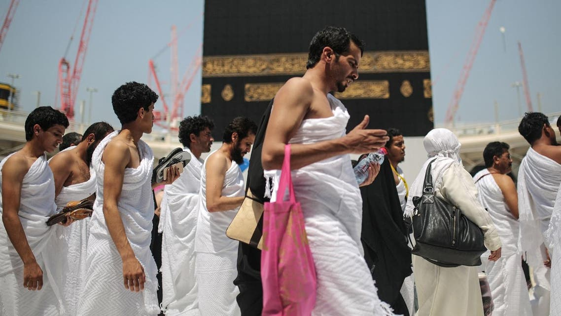 Muslim pilgrims circle the Kaaba, the cubic building at the Grand Mosque in the Muslim holy city of Makkah. (File photo: AP)