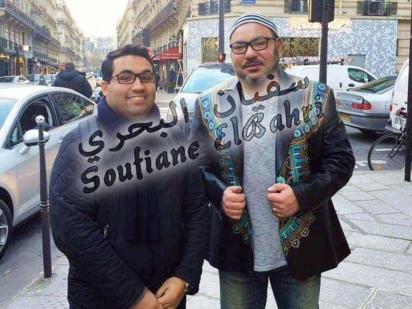 بالصور.. #الملك_المغربي يتجول بباريس ويلتقي بالمغاربة
