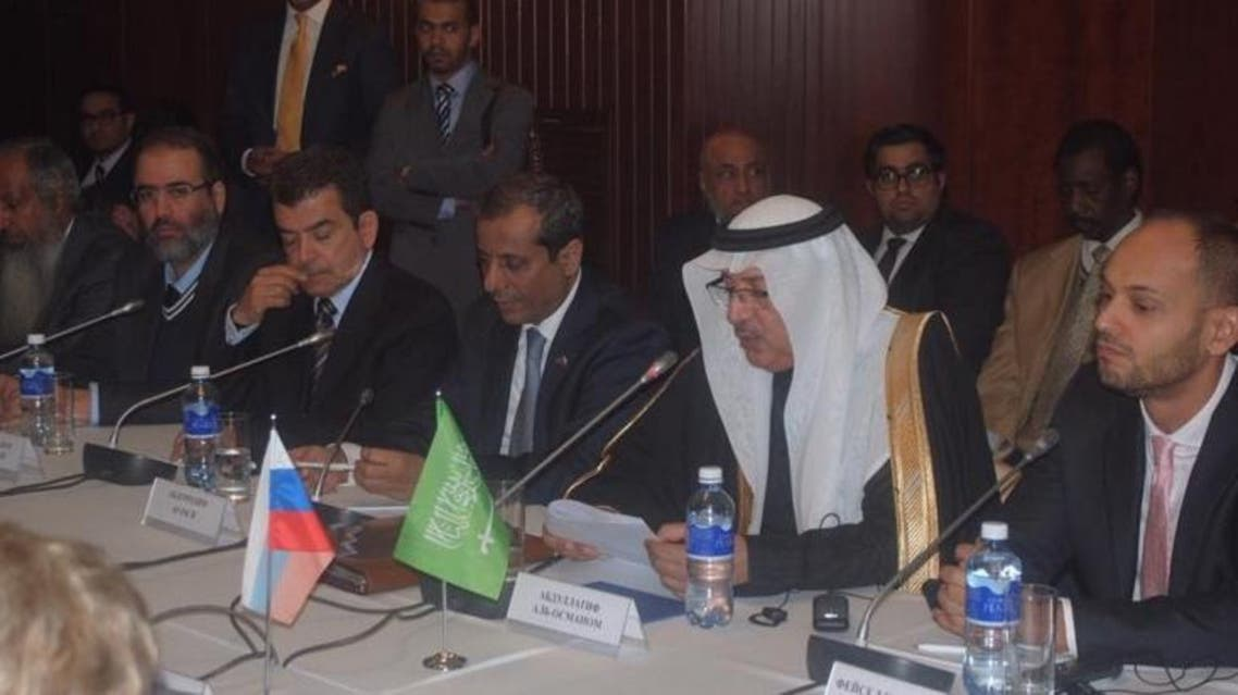 Abdullatif Al-Othman, governor of the Saudi Arabian General Investment Authority (SAGIA), at the Saudi-Russian Joint Committee meeting in Moscow, Thursday. SPA