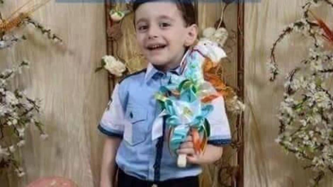 الطفل توفيق إلياس ابراهيم قتلته قنبلة شبيح في الكنيسة