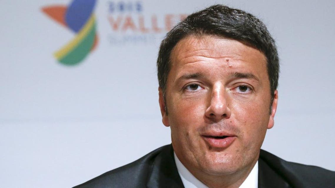 Italian Prime Minister Matteo Renzi takes part in an informal meeting of European Union heads of state and government in Valletta, Malta, November 12, 2015 | Reuters