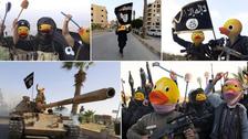 """حين يتحول داعش إلى """"دولة بط"""" وتعلو الضحكات"""