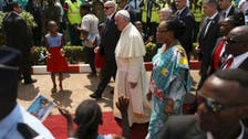 Resist 'fear of others,' pope says in strife-torn Central African Republic