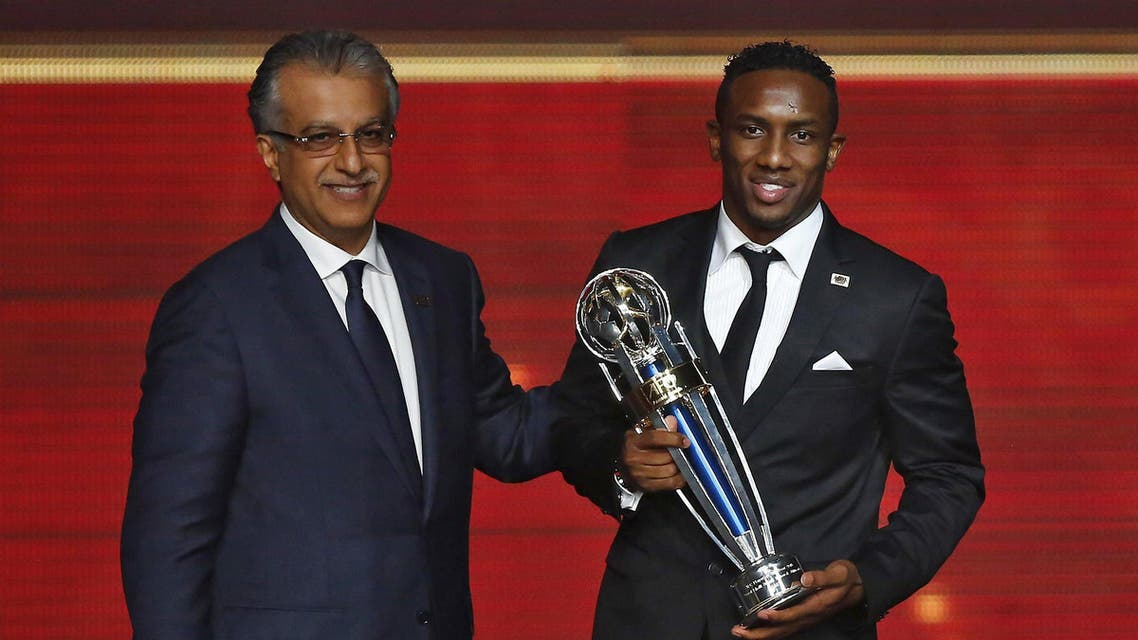 Khalid's award is richly deserved after his goals fired UAE to third place at the Asian Cup in January and also took Al-Ahli. (AFP)