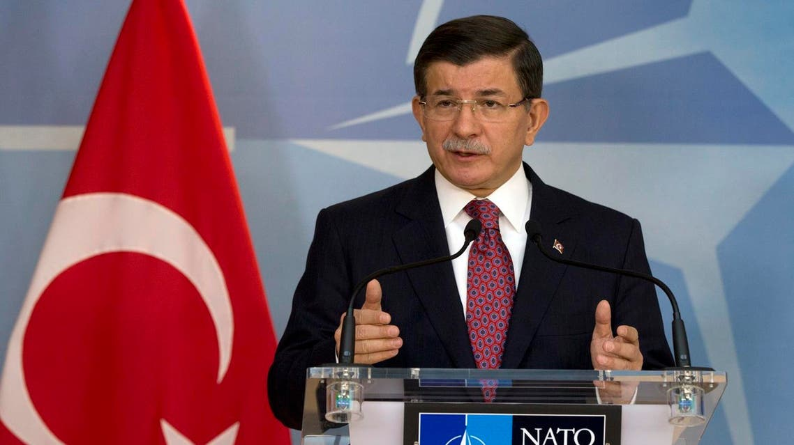 Turkish Prime Minister Ahmet Davutoglu said his Turkey wants to prevent incidents like the downing of a Russian warplane by Turkish jet. (AP)